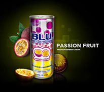 BLU Passion-Fruit Enery Drink