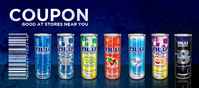 BLU 4 You | BLU Energy Drink